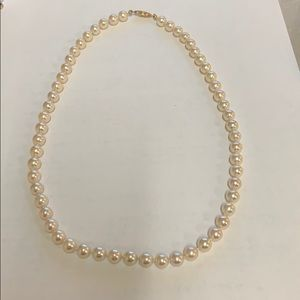 Jewelry - ANTIQUE cultured pearl strand